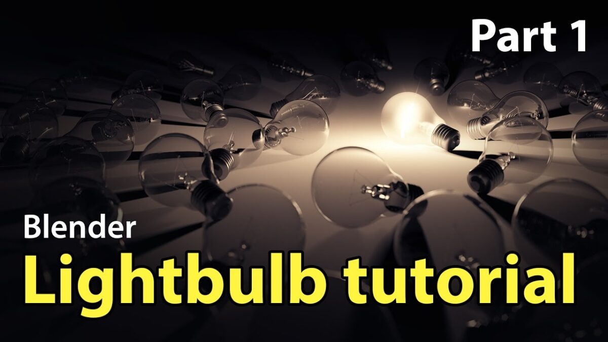 Beginner tutorial light bulb modelling tutorial for beginners to beginner tutorial light bulb modelling tutorial for beginners to start baditri Image collections