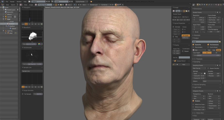 Blender Character Modeling Dvd : Google funding blender for getting next gen skinning