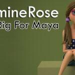 JasmineRose Free Rig For Maya