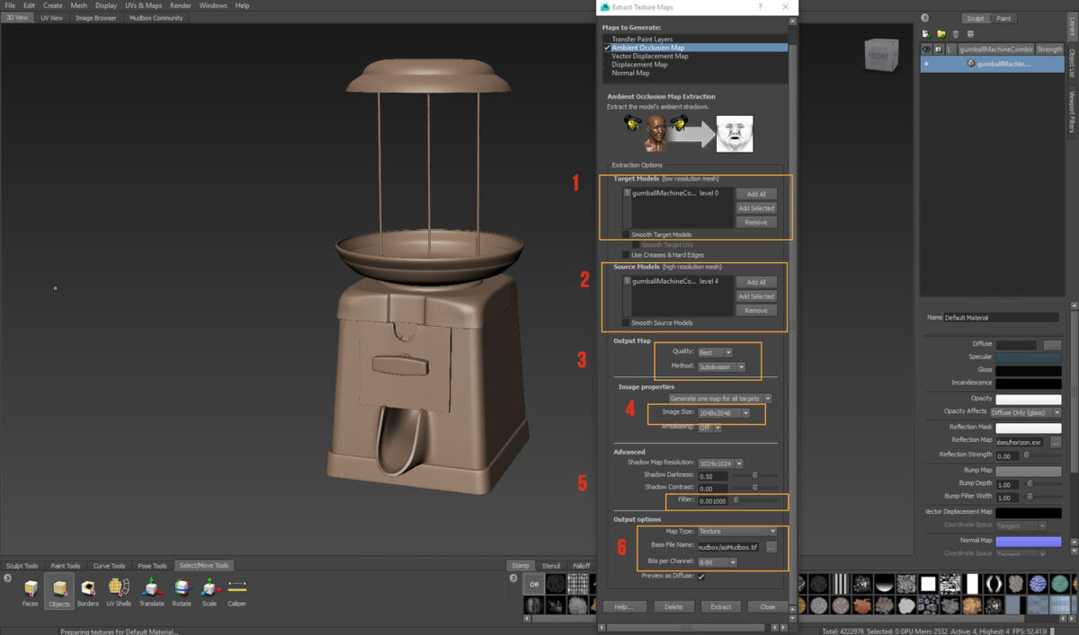 MUDBOX AMBIENT OCCLUSION BAKING_BY PAUL H.PAULINO AMBIENT OCCLUSION AMBIENT OCCLUSION,BAKING,PAUL H.PAULINO,BAKING MAP