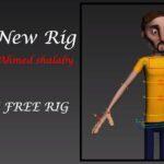 Shiko-New Rig(FREE 3D MAX RIG)_by Ahmed shalaby
