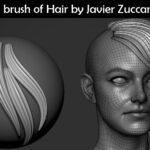 Free Insert brush of Hair_by Javier Zuccarino (ZUKA)